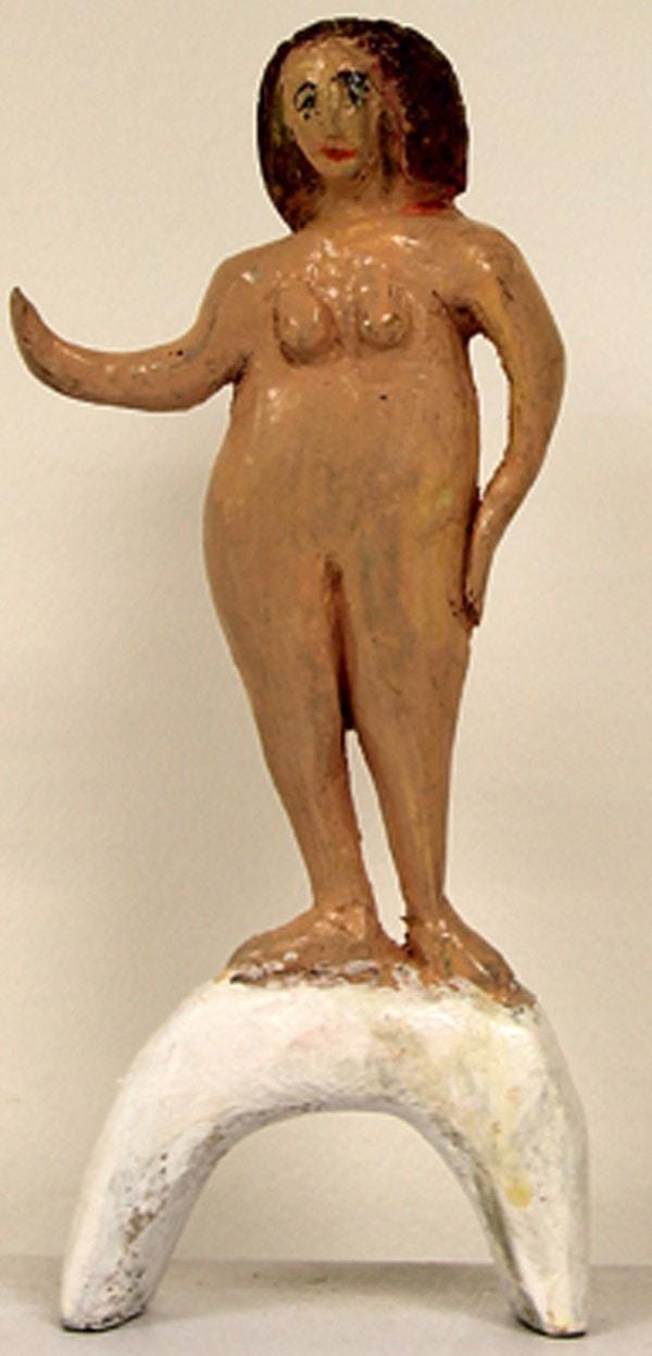 «Венера по рисунку Боттичелли, вид спереди». Арье Фетман, 90 лет
