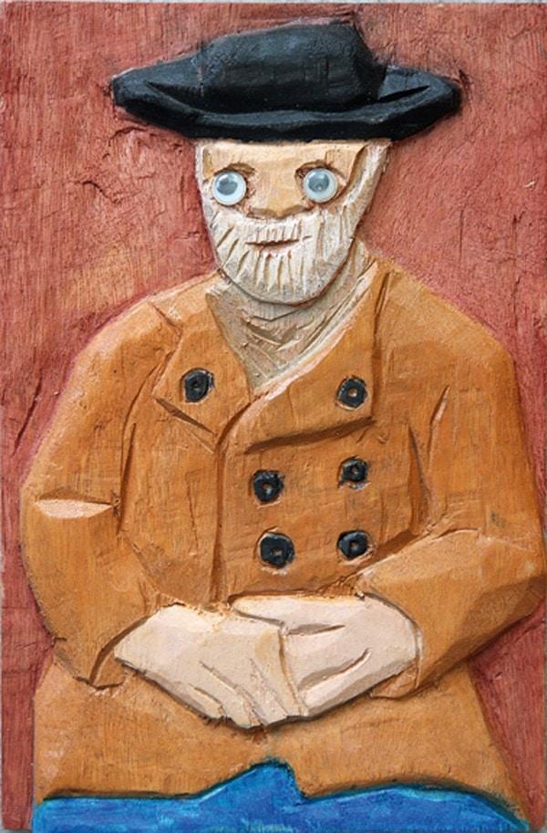 «Ван Гог». Беньямин Илан, 92
