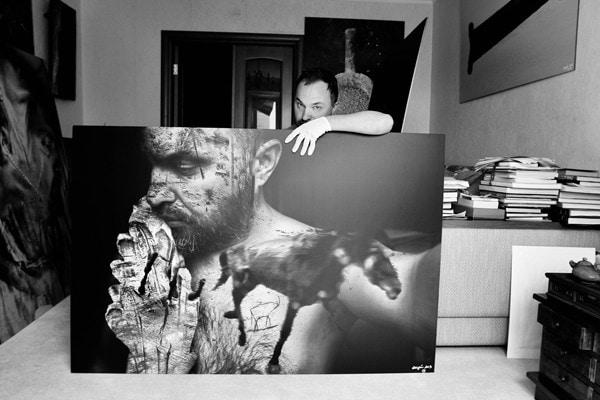 self-portrait.  на фото работа из лимитированной серии «Многоточие» — 1 экземпляр